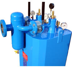 LPG FEED-OUT HOT WATER VAPORIZERS AND CONTROL PANELS
