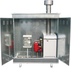 THERMIC UNIT FOR HOT WATER PRODUCTION AND ACCESSORIES