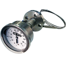 INERT GAS THERMOMETERS FOR LPG TANKS