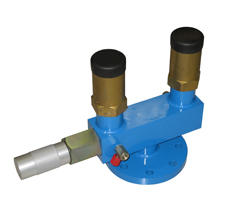 MANIFOLD FOR SAFETY RELIEF VALVES FOR LPG TANKS